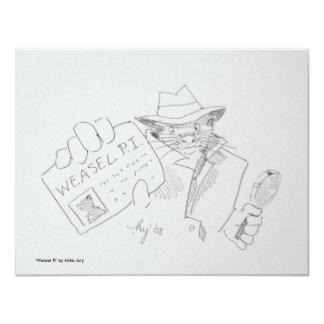 Weasel P.I. Card