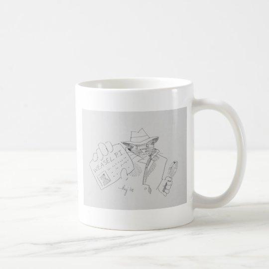 Weasel P.I. Coffee Mug