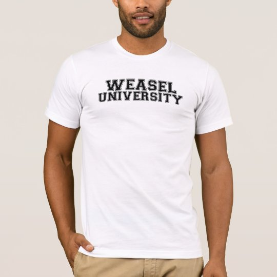 Weasel University T-Shirt