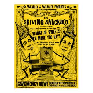 Weasley y productos del weasley tarjetas postales