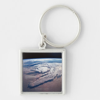Weather Above Earth Keychain