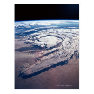 Weather Above Earth Postcard