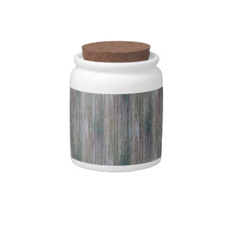 Weather-beaten Bamboo Look Candy Dish