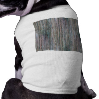 Weather-beaten Bamboo Look Dog Clothing