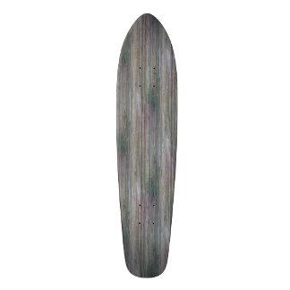 Weather-beaten Bamboo Look Skateboard Deck
