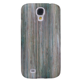 Weather-beaten Bamboo Wood Grain Look Galaxy S4 Cover