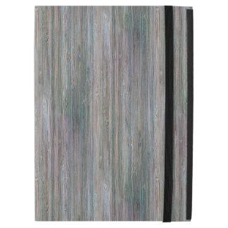 Weather-beaten Bamboo Wood Grain Look iPad Pro Case