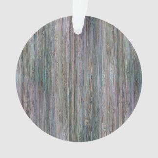 Weather-beaten Bamboo Wood Grain Look Ornament