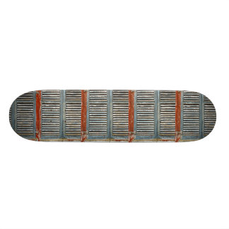Weather-beaten window skateboard