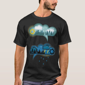 Weather Bubble Talk T-Shirt