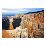 Weather Carved Pinnacles - Bryce Canyon Custom Announcements