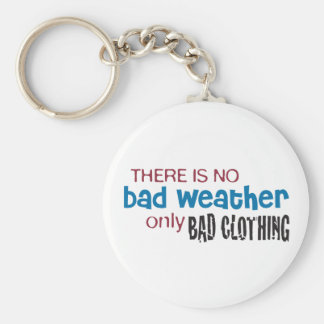 Weather & Clothing Keychain