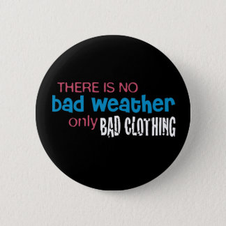 Weather & Clothing Pinback Button