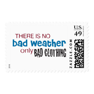 Weather & Clothing Postage