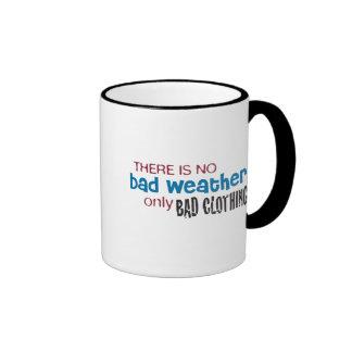 Weather & Clothing Ringer Mug