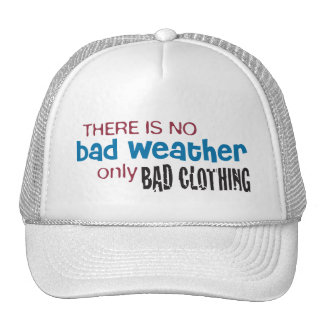 Weather & Clothing Trucker Hat