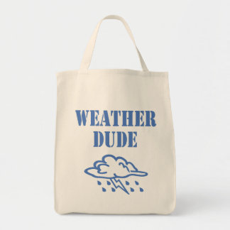 Weather Dude Tote Bag