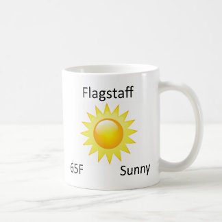 weather Flagstaff Coffee Mug