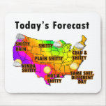 Weather Forecast Mouse Pad