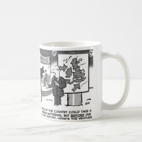 Weather Forecast on Budget Day Coffee Mug