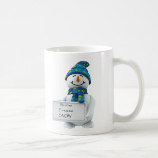 Weather Forecast SNOW Mug
