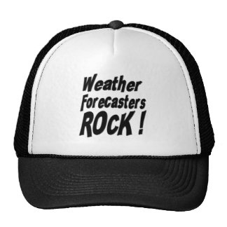 Weather Forecasters Rock! Hat