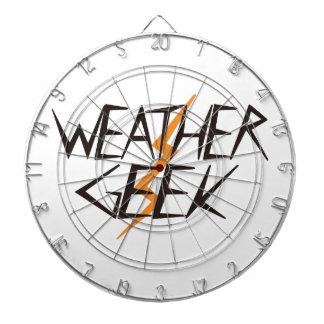 Weather Geek Dart Board