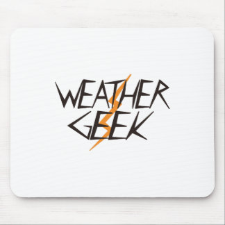 Weather Geek Mouse Pad