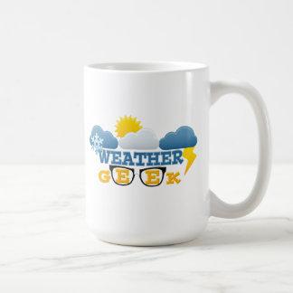 Weather Geek Mug Basic White Mug