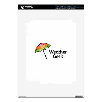 Weather Geek iPad 3 Skin