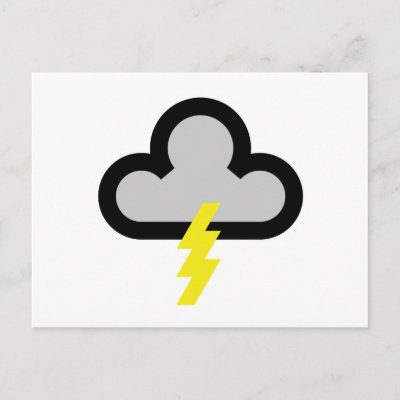 thunderstorms symbol