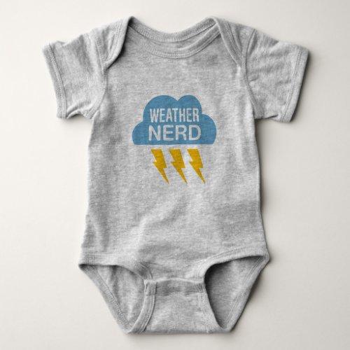 Weather Nerd Baby Bodysuit