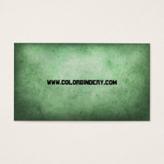 Weather Papered General Business Card at Zazzle