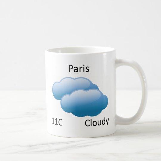 weather Paris Coffee Mug