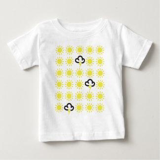Weather pattern: Retro weather forecast symbols Baby T-Shirt