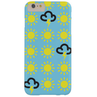 Weather pattern: Retro weather forecast symbols Barely There iPhone 6 Plus Case