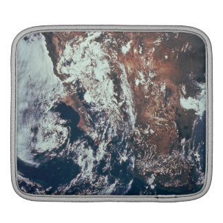 Weather Patterns over Earth iPad Sleeve