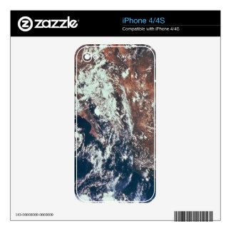 Weather Patterns over Earth Skins For iPhone 4S