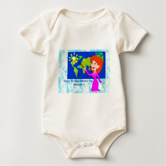 Weather Person's Day February 5 Baby Bodysuit