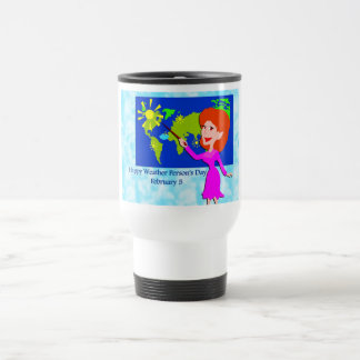 Weather Person's Day February 5 Travel Mug