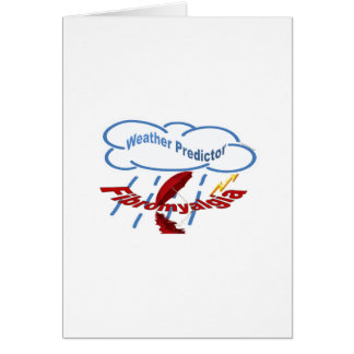 Weather Predictor Greeting Card