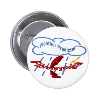 Weather Predictor Pinback Button