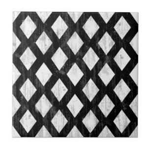 white and black diamond pattern decorative ceramic tiles zazzle Weather Tile Windows 8 Logo weather seamless pattern diamonds black and white ceramic tile