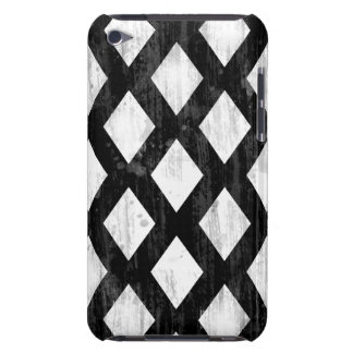 Weather Seamless Pattern, Diamonds Black and White iPod Case-Mate Case