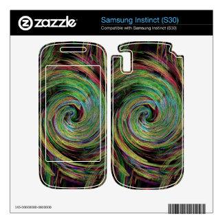 Weather Samsung Instinct Decal