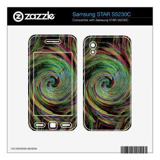 Weather Samsung STAR S5230C Skin