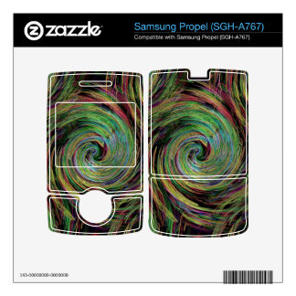 Weather Skin For Samsung Propel