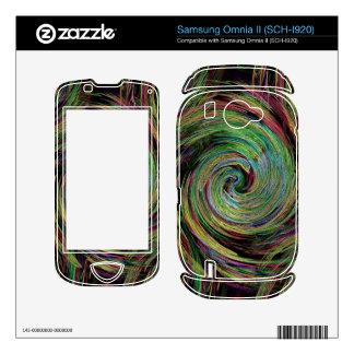 Weather Skin For Samsung Omnia II