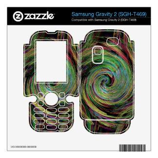 Weather Samsung Gravity 2 Skin