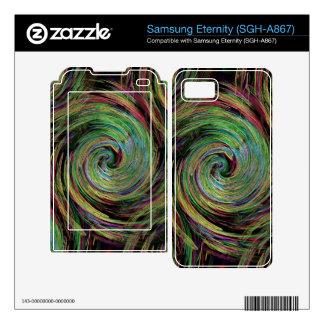Weather Samsung Eternity Decals